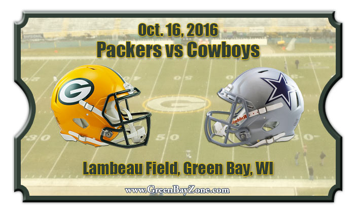 2016 Packers Vs Cowboys
